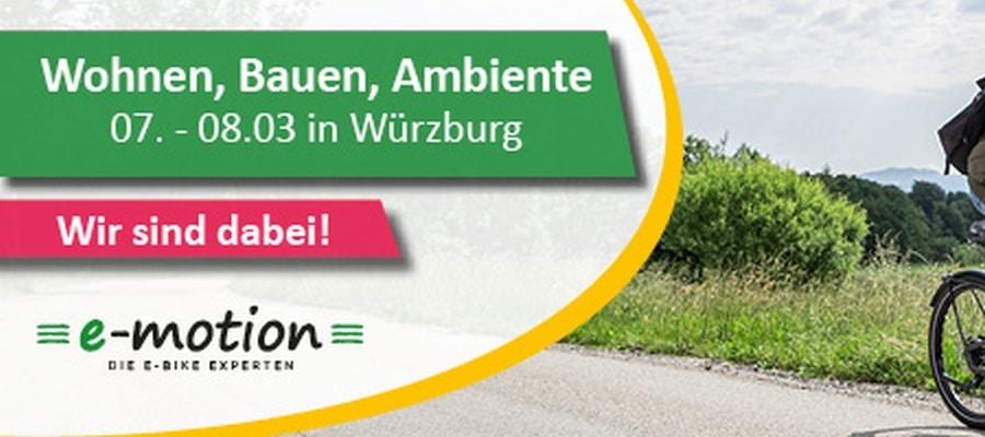Wohnen, Bauen und Ambiente Messe in Würzburg