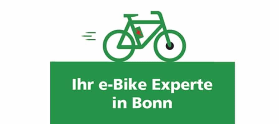 Banner zu Ihren e-Bike Experten in Bonn