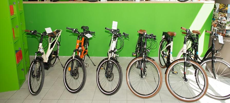 Die große Auswahl der e-motion e-Bike Welt Düsseldorf