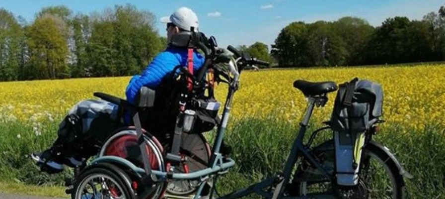 Dreiradkunde der e-motion e-Bike Welt Cloppenburg