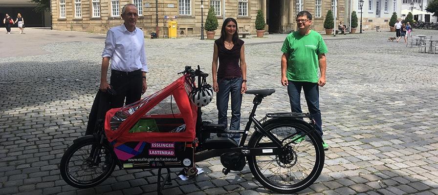Die Übergabe des Riese und Müller Packster 60 Vario Lasten e-Bikes