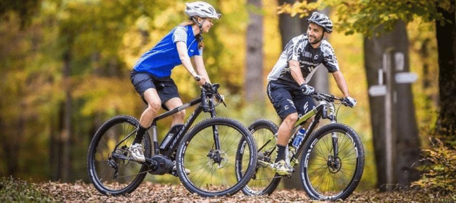 e-Bike Tour im Herbst und Winter