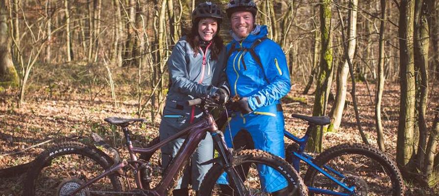 Iris und Frank aus der e-motion e-Bike Welt Sankt Wendel