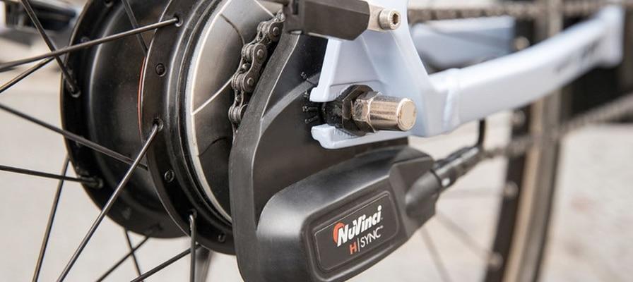 Die Nuvinci Schaltung an einem e-Bike