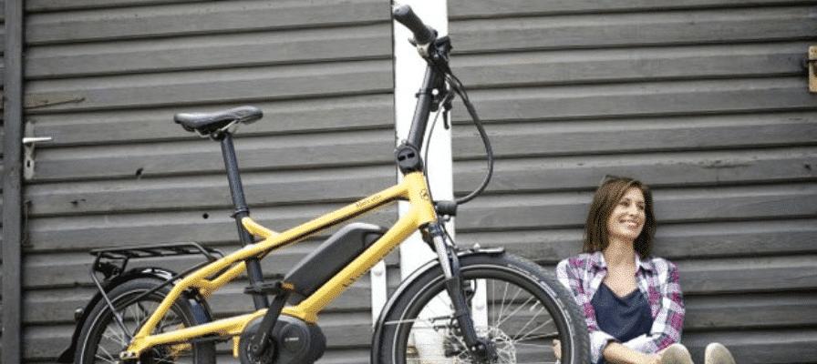 gelbes e-Bike von Riese & Müller 2015