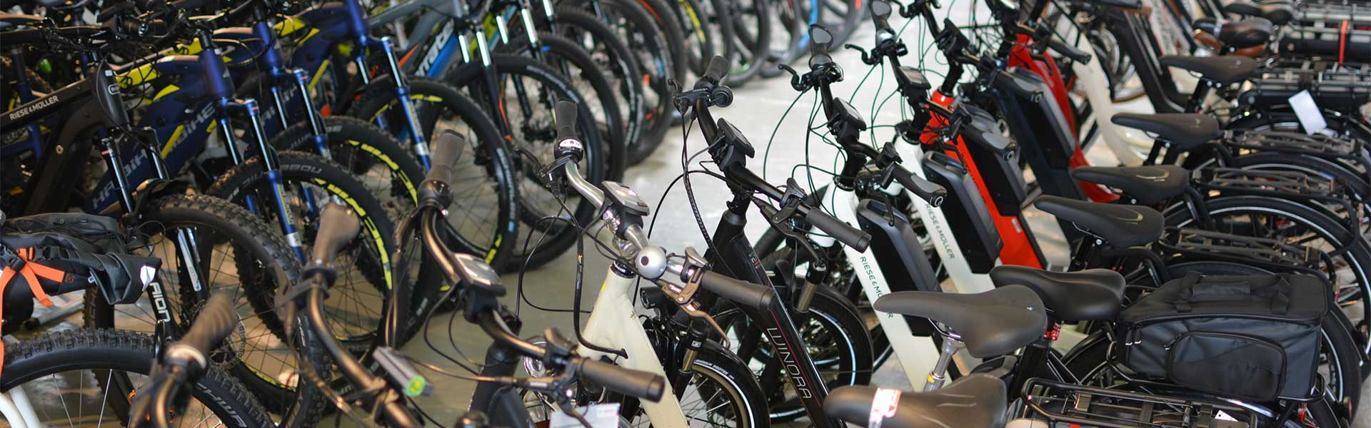 Der Shop der e-motion e-Bike Welt Saarbrücken