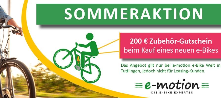 Banner zur Zubehör-Sommeraktion in Tuttlingen und Ravensburg