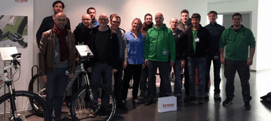 e-motion Team beim Antriebstechnik-Zulieferer Brose