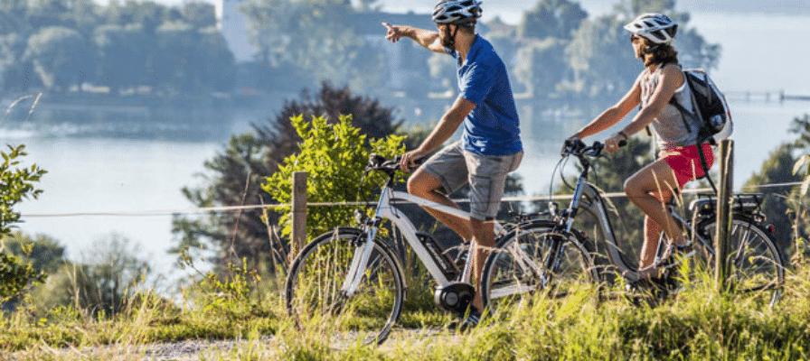 e-Bike Tour am Fluss