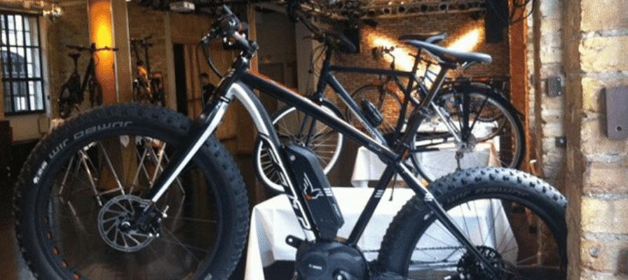 e-Bike in Ausstellung