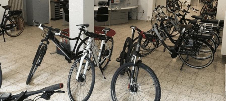 e-motion e-Bike Welt Bochum Innenansicht