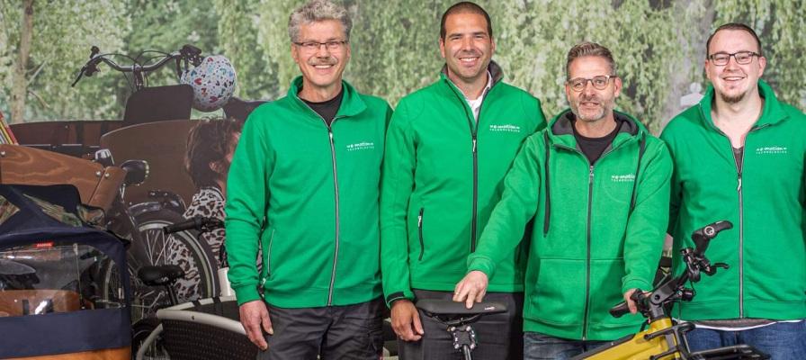 Team der e-motion e-Bike Welt Moers