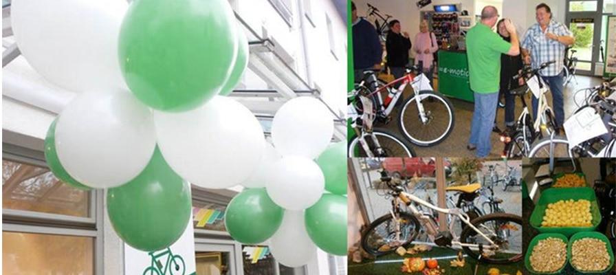 Eindrücke der Eröffnungsfeier in der e-motion e-Bike Welt München Süd