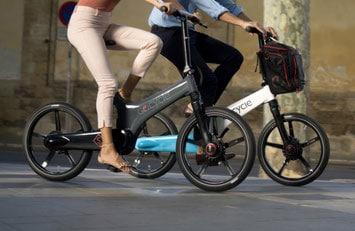Rahmen des Falt- und Kompakt e-Bikes