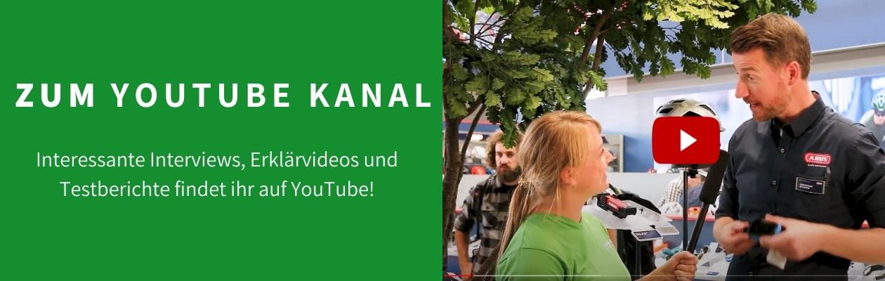 Banner zum YouTube Kanal