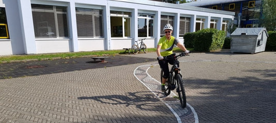 Der Belchenradler beim Fahrsicherheitstraining