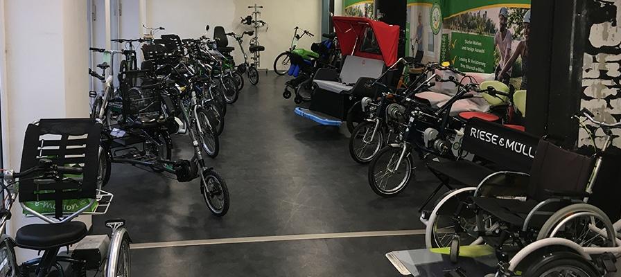 Die große Auswahl im Dreirad-Zentrum Stuttgart