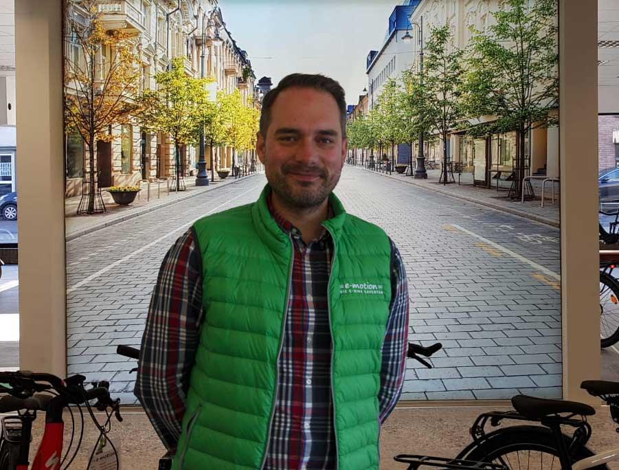 Inhaber der e-motion e-Bike Welt Nordheide