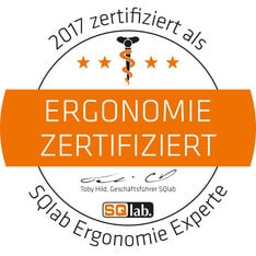 Icon ErgonomieZertifiziert