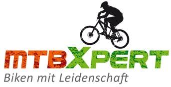 Das Logo von mtbXpert e-MTB Touren