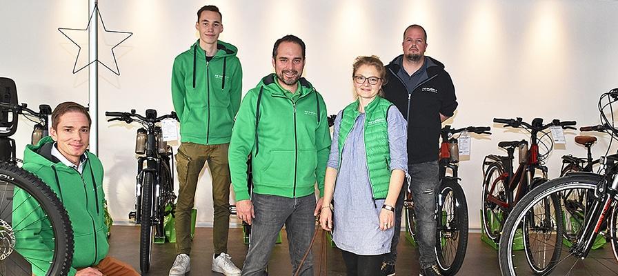 Die Experten der e-motion e-Bike Welt Nordheide