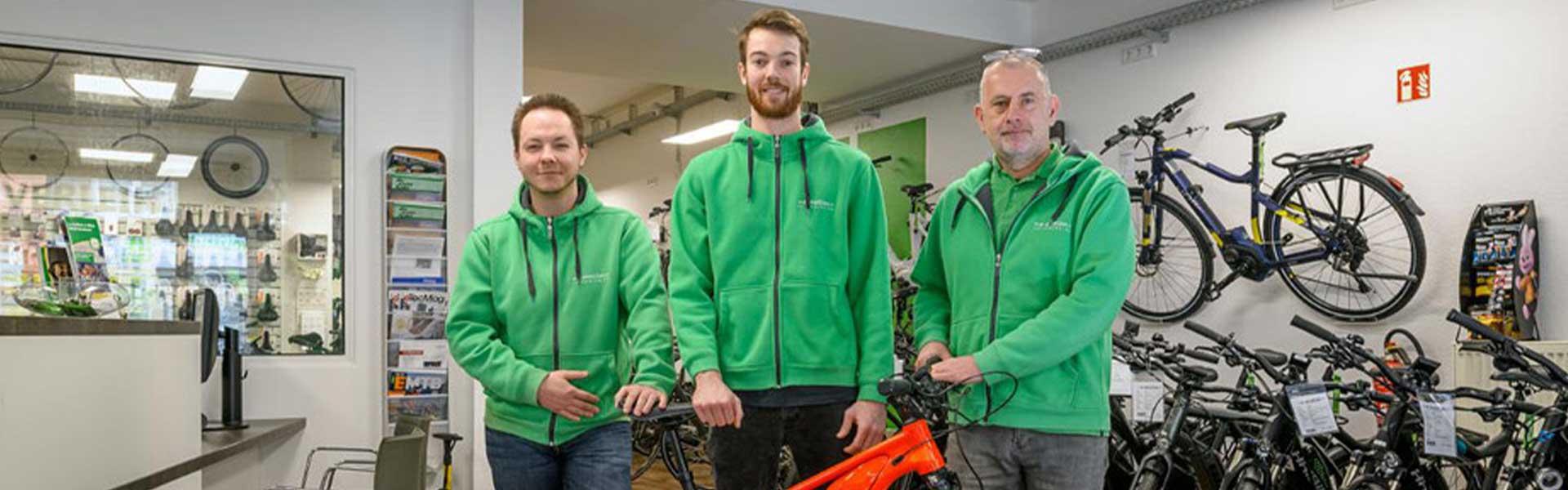 Das Team der e-motion e-Bike Welt Bochum