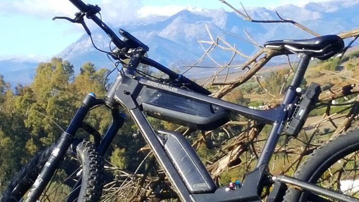 Ein Riese und Müller e-Bike in Analusien