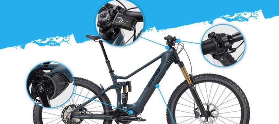 e-Bike Komponenten am e-Bike