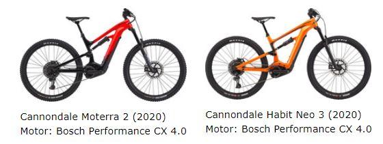 Cannondale e-MTBs in der e-motion e-Bike Welt Herdecke