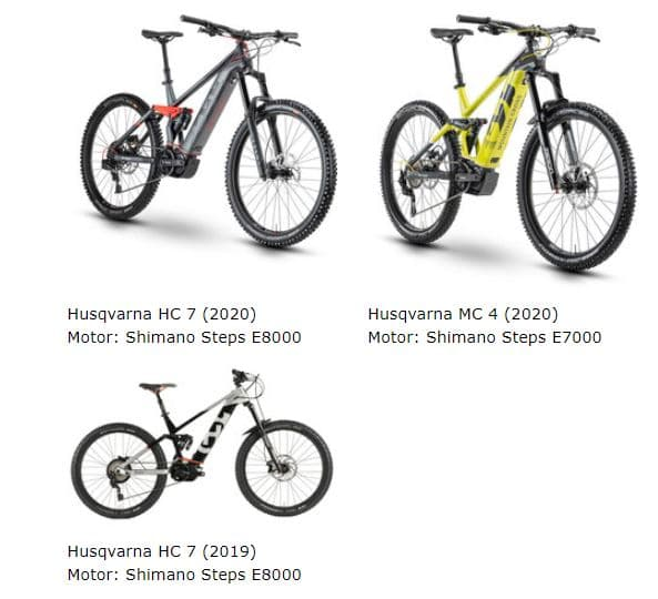 Husqvarna e-Mountainbikes in der e-motion e-Bike Welt Herdecke