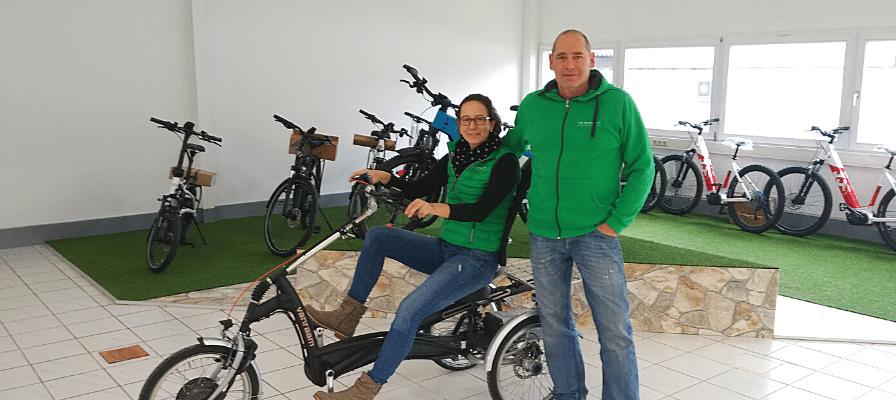 Das Team der e-motion e-Bike Welt Merzig