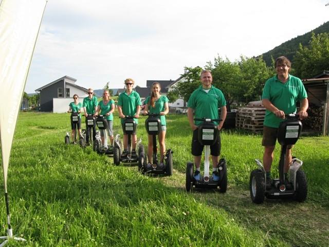 Segway fahren in der e-motion e-Bike Welt Tuttlingen