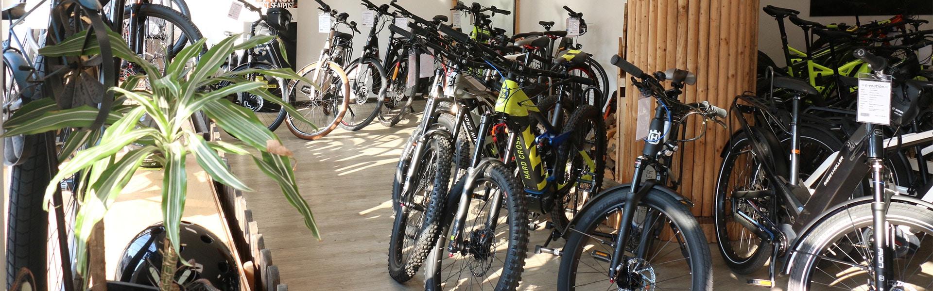 Der Shop der e-motion e-Bike Welt Herdecke