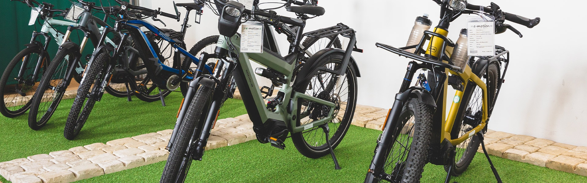 Der Shop der e-motion e-Bike Welt Worms
