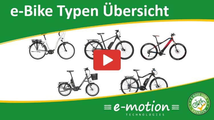 Thumbnail e-Bike Typen