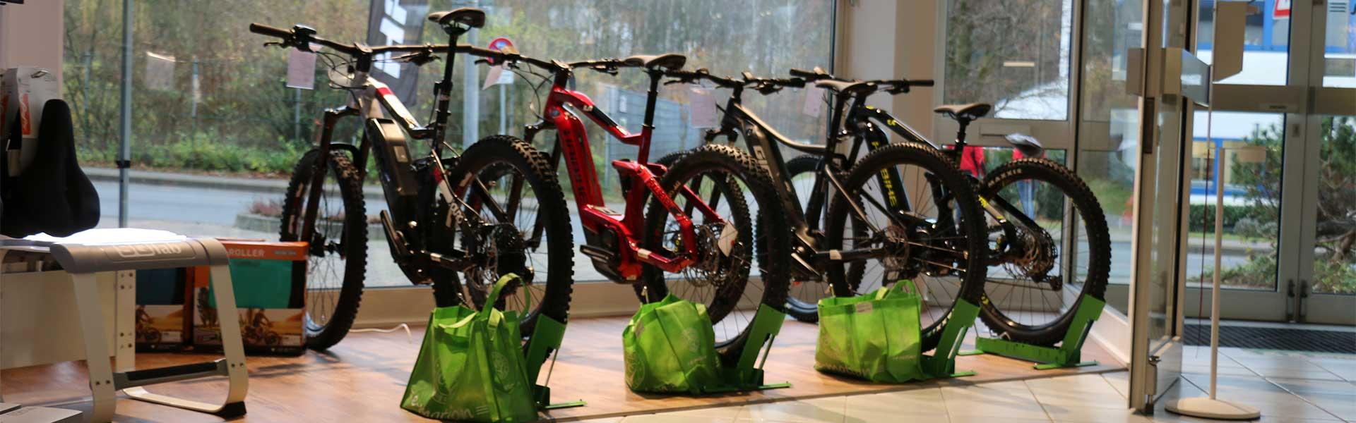 Der Shop der e-motion e-Bike Welt Nordheide