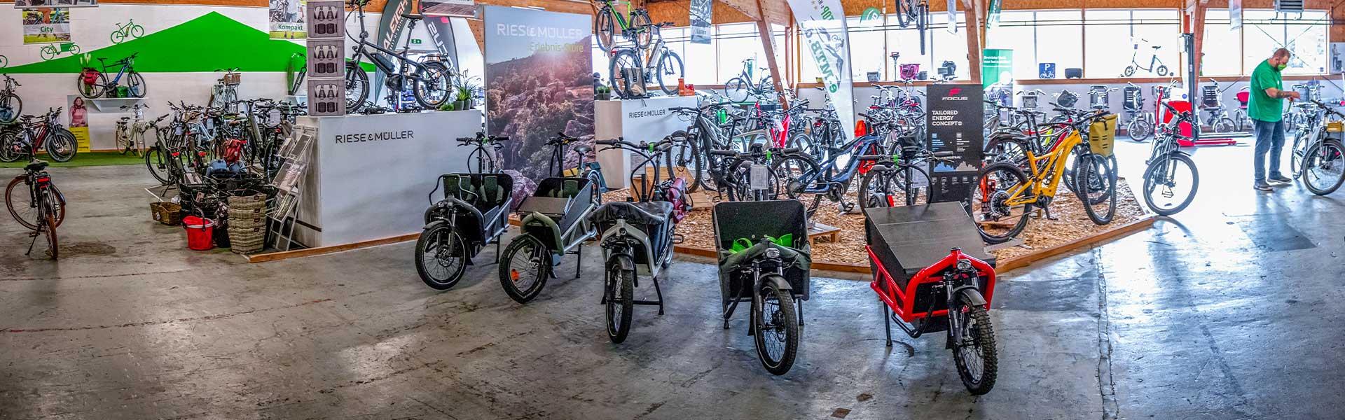 Der Shop der e-motion e-Bike Welt Ahrensburg