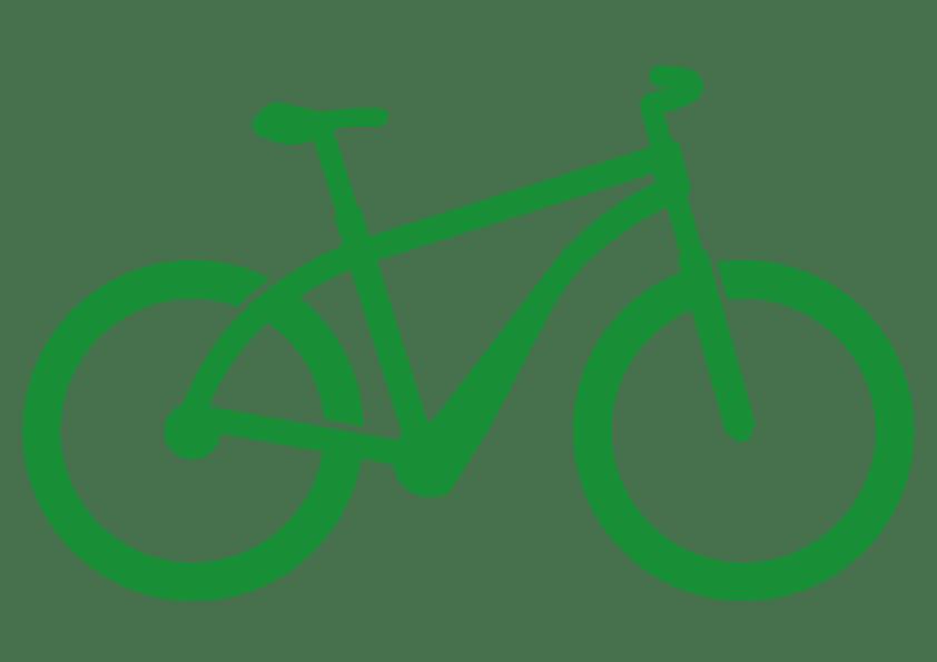 Fahrrad Icon ohne Motor