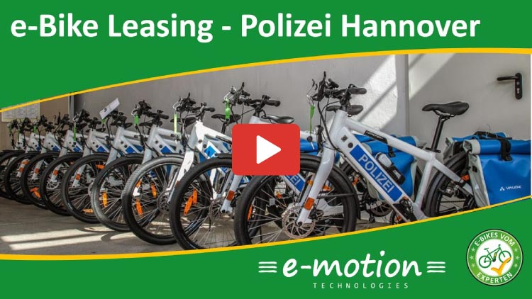 Thumbnail e-Bike Leasing Polizei Hannover