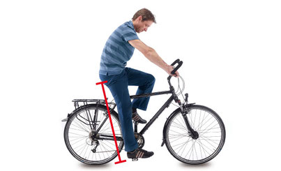 e-bike-sattel-einstellen