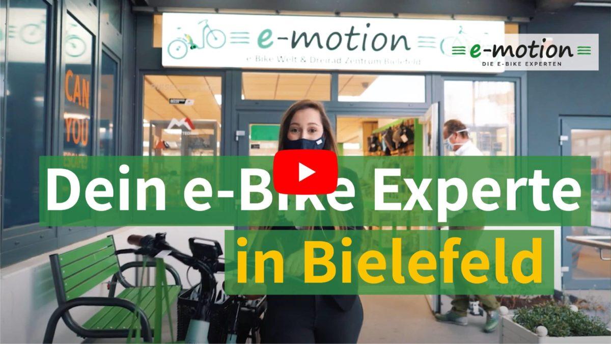 Wir stellen uns vor: die e-motion e-Bike Welt Bielefeld