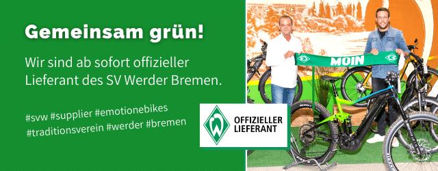 Banner Werder Bremen Offizieller Lieferant