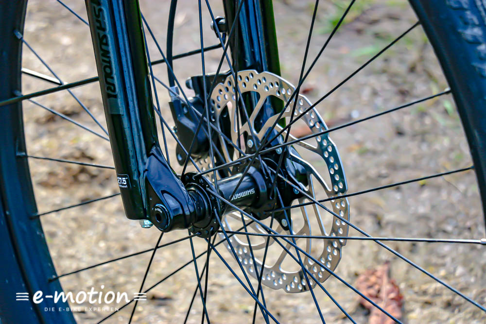 Shimano Bremse am Cannondale Adventure Neo