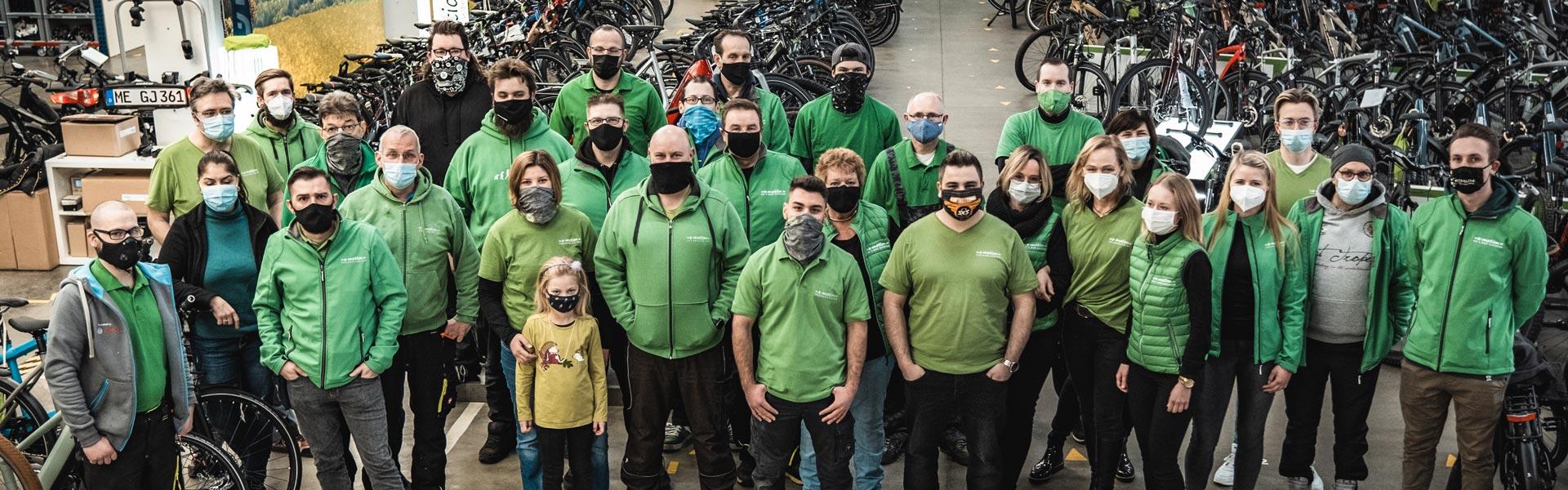 Das Team des e-motion e-Bike Premium Shop Velbert