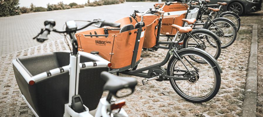 Lastenfahrräder in der e-motion e-Bike Welt Erfurt