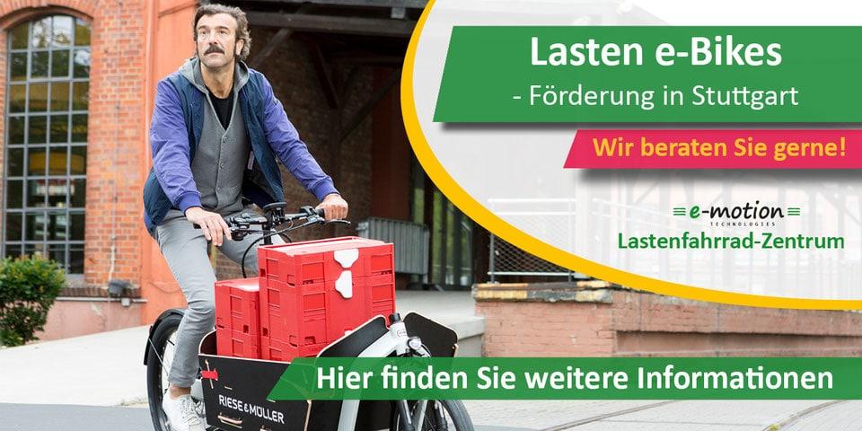Lastenrad Förderung Stuttgart