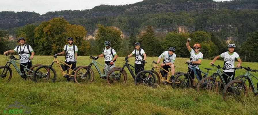 e-Mountainbike Tour in der Sächsischen Schweiz