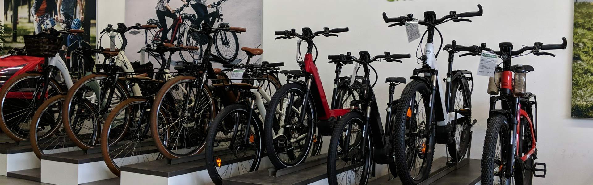 Der Shop der e-motion e-Bike Welt Gießen