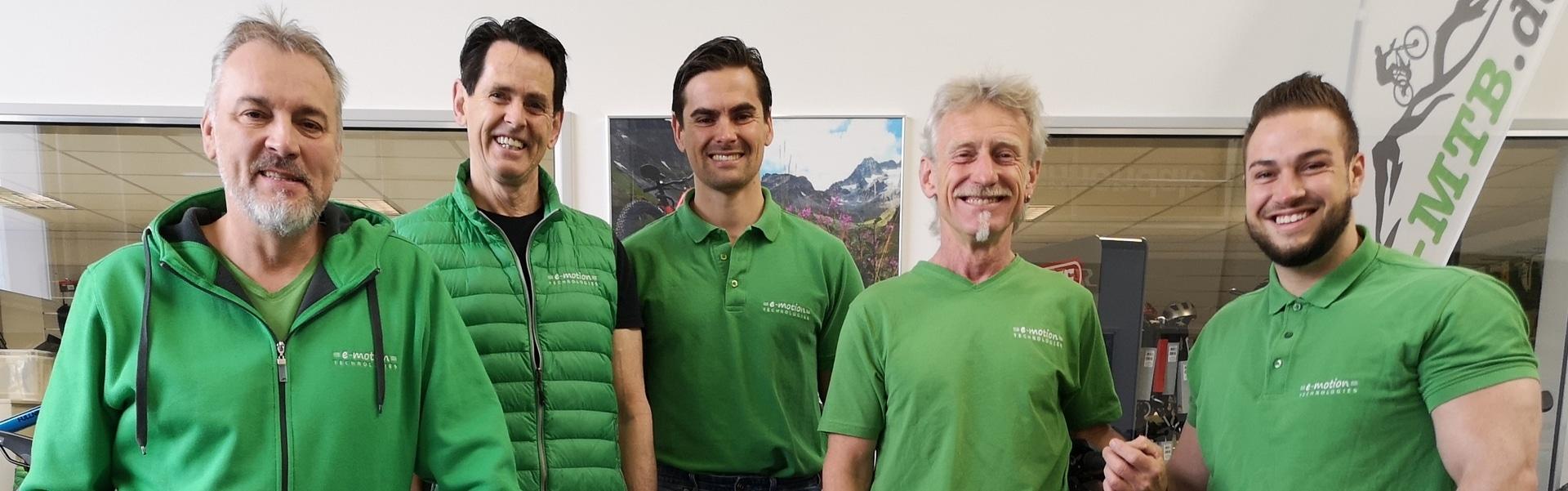 Dein Team der e-motion e-bike Welt München West