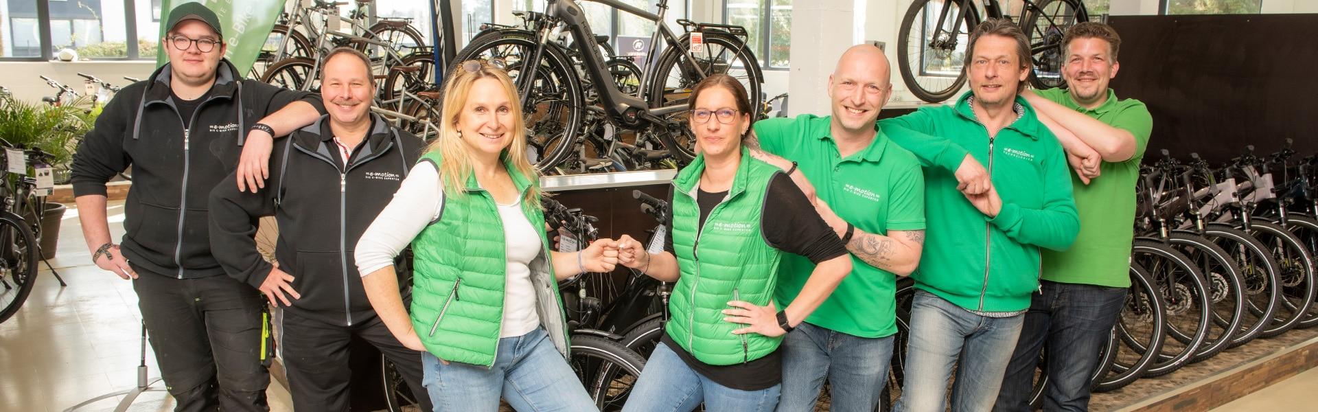 e-motion e-Bike Welt Bad Kreuznach Team Titelbild